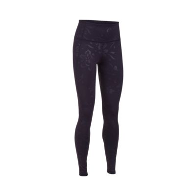 Under Armour Women's Studio Mirror Hr Floral Embossed Tights
