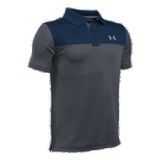 47451b400 Under Armour Boys' Performance Blocked Polo Golf Shirt | Sport Chek