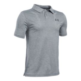 Under Armour Boys' Printed Tour Polo Golf Shirt