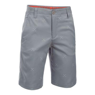 Under Armour Boys' Matchplay Printed Golf Shorts