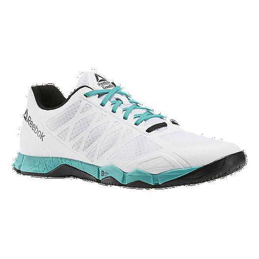 92aa8434e7b1 Reebok Men s CrossFit Speed TR Training Shoes - White Teal