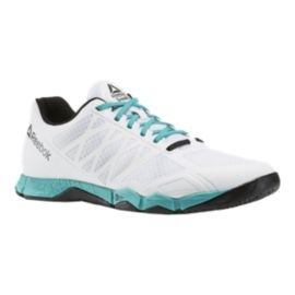 Reebok Men s CrossFit Speed TR Training Shoes - White Teal  ab6d22e3c
