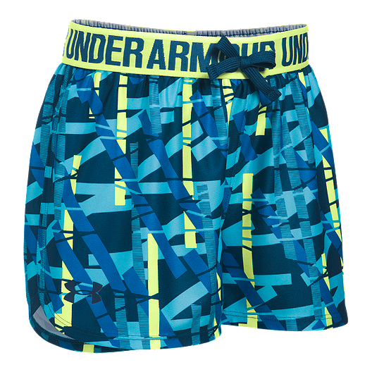 4c7f1d36b Under Armour Girls' Printed Play Up Shorts | Sport Chek