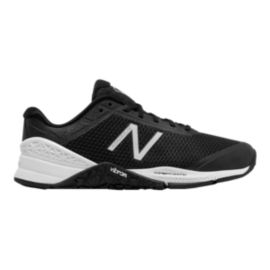 New Balance Women's 40 D Wide Width Training Shoes - Black/White