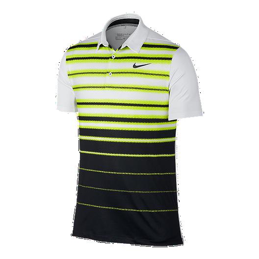 f6ba592e Nike Golf Mobility Fade Stripe Men's Polo   Sport Chek