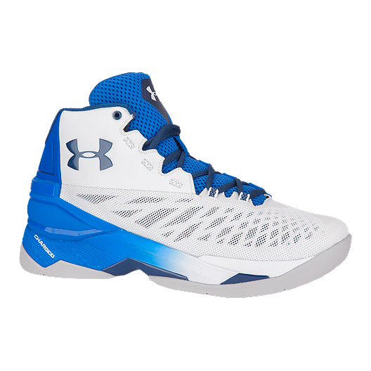 358c48cdf42 Under Armour Men s Longshot Basketball Shoes - White Blue