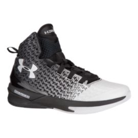 Under Armour Men's ClutchFit Drive III Basketball Shoes - Black/White