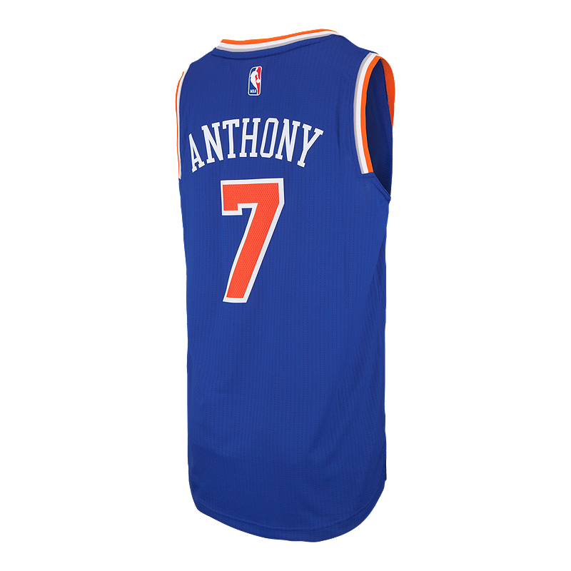 check out d63bd d61f3 New York Knicks Carmelo Anthony Swingman Road Basketball ...