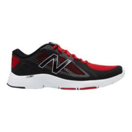 New Balance Men's MX713 D Training Shoes - Black/Red