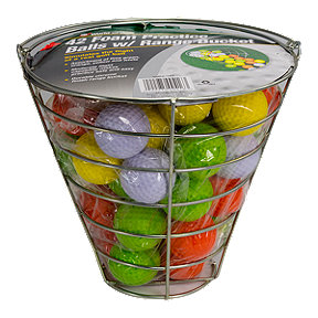 Jef Range Bucket with 42 Foam Balls