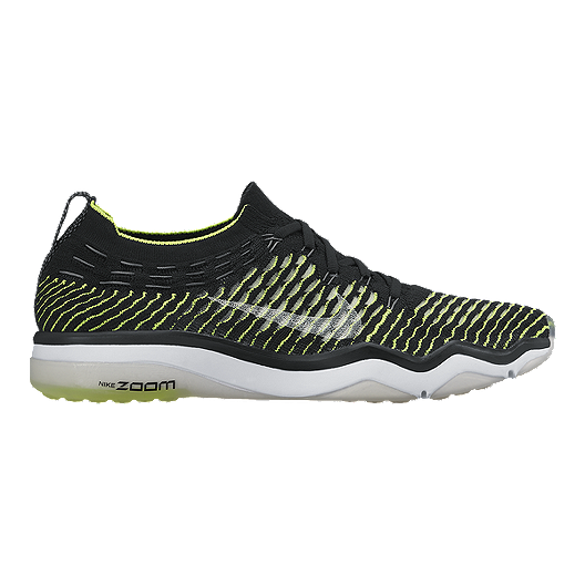 33a52fd07a64b Nike Women's Air Zoom Fearless FlyKnit Training Shoes - Black/Volt Green