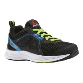 Reebok Kids' Zone CushRun 2.0 Running Shoes - Black/Blue/Green