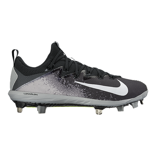 uk availability 44fba 8a852 Nike Men s Vapor UltraFly Elite Metal Baseball Cleats - Black Grey   Sport  Chek