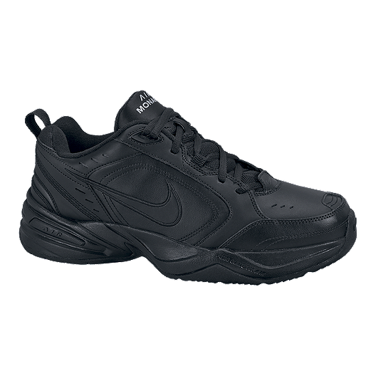 1f5fc0579 Nike Men s Air Monarch IV 4E Extra Wide Width Shoes - Black