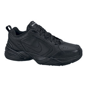 Nike Men's Air Monarch IV 4E Extra Wide Width Shoes - Black