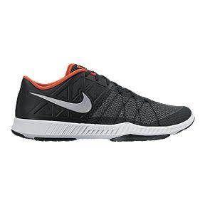 d2ccd013b012 Nike Men s Zoom Train Incredibly Fast Men s Training Shoes - Black White  Orange