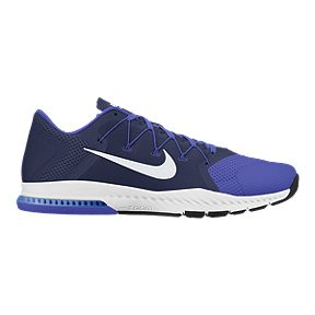 c37ba8b07d4e Nike Men s Zoom Train Complete Training Shoes - Blue White