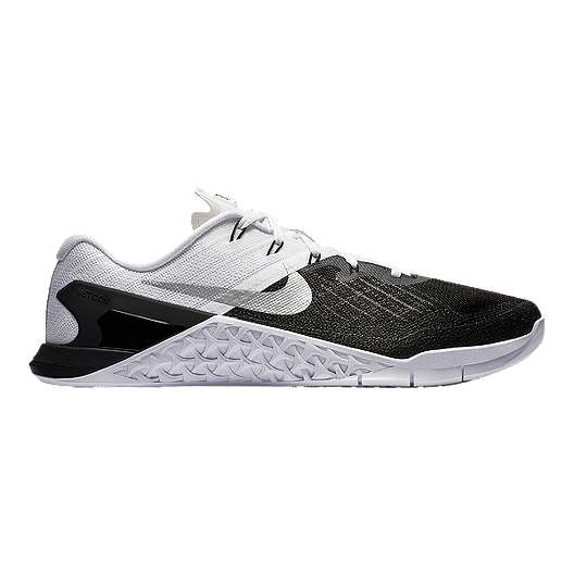 563943adc269f Nike Men's Metcon 3 Training Shoes - Black/White | Sport Chek