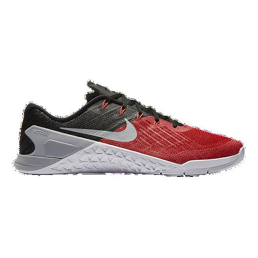 eeab85ef1a2 Nike Men s Metcon 3 Training Shoes - Red Black White