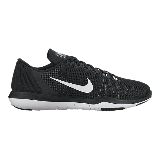 f987e9ccaad3c Nike Women s Flex Supreme TR 5 Training Shoes - Black White