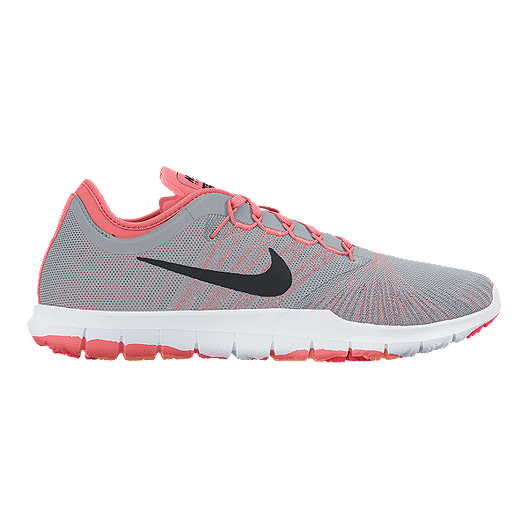 cd9fe8e61630 Nike Women s Flex Adapt TR Training Shoes - Grey Pattern Pink ...