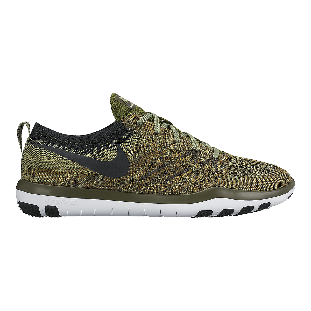 sports shoes 18002 419a6 Nike Women s Free TR Focus FlyKnit Training Shoes - Olive Green Black    Sport Chek