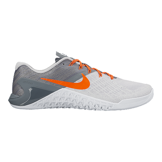 separation shoes c95a6 b6f0c Nike Women s Metcon 3 Training Shoes - White Orange Grey   Sport Chek