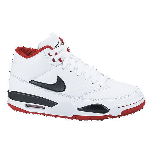 8684416173b Nike Men s Air Flight Classic Shoes - White Black