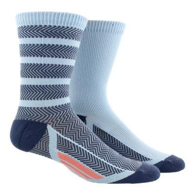 adidas Women's Studio Crew Socks- 2 - Pack