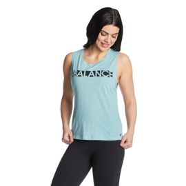 New Balance Women's Studio Cotton Graphic Tank