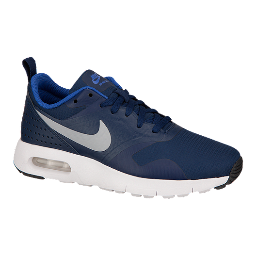 0ba749a767 Nike Kids' Air Max Tavas Grade School Casual Shoes - Blue/Grey | Sport Chek