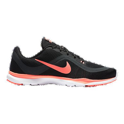 6960538050d8 Nike Women s Flex Trainer 6 Training Shoes - Black Pink