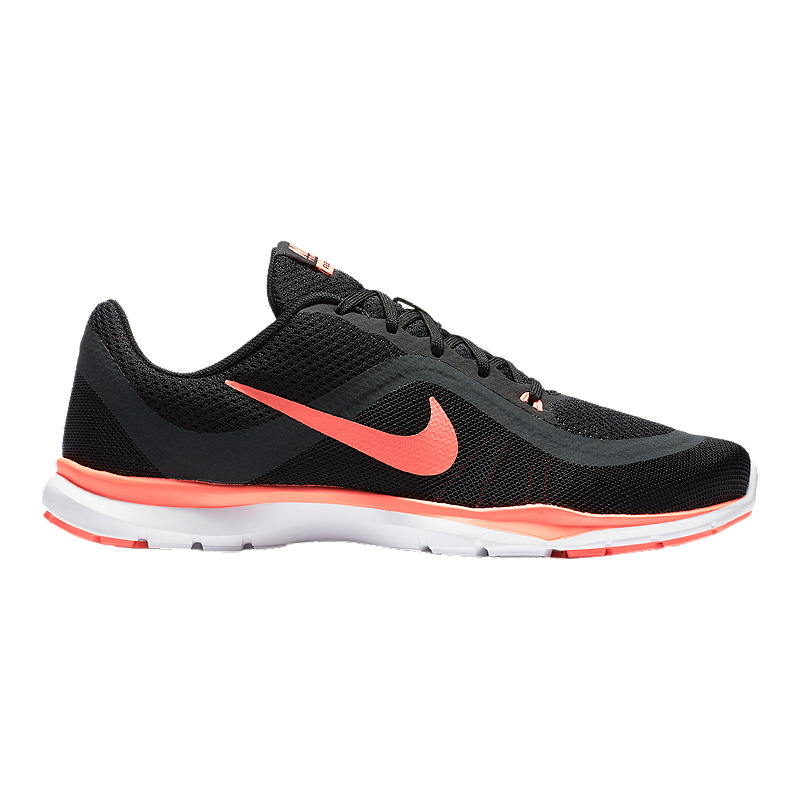 714fe312f8d35 Nike Women s Flex Trainer 6 Training Shoes - Black Pink