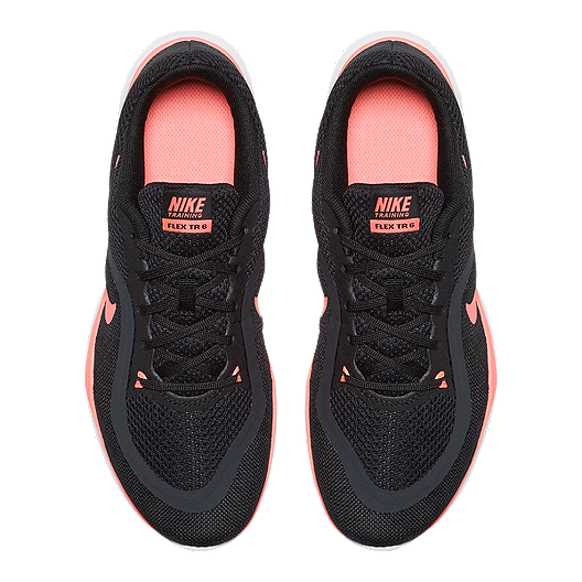f9cef1ef02b1 Nike Women s Flex Trainer 6 Training Shoes - Black Pink. (0). View  Description
