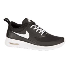 Nike Girls' Air Max Thea Grade School Casual Shoes - Black/White