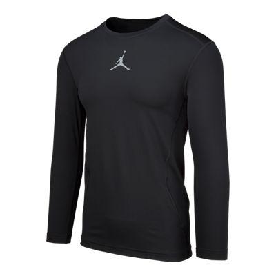 Jordan Men's 23 Pro Dry Compression Long Sleeve Shirt