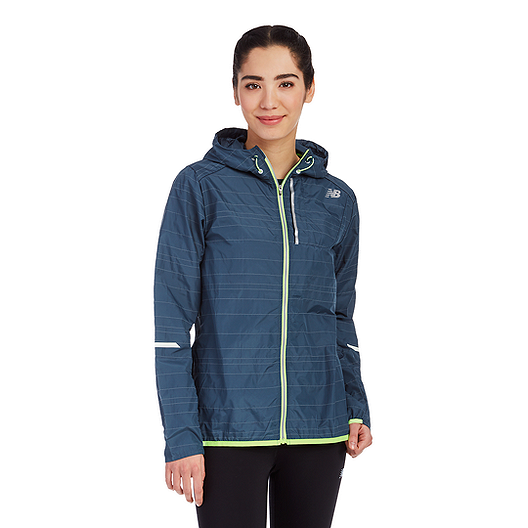 4bc6346784fb3 New Balance Women's Run Reflective Lite Packable Jacket | Sport Chek