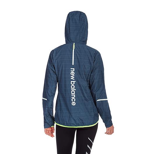 2a30395814298 New Balance Women's Run Reflective Lite Packable Jacket. (1). View  Description