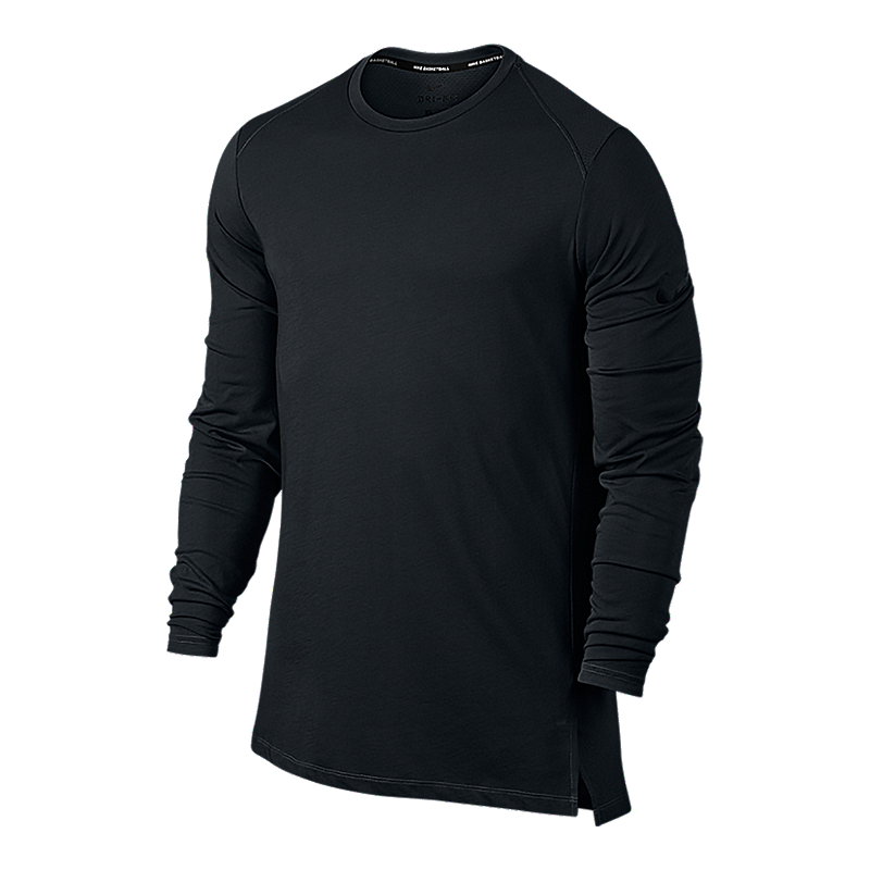 949812660388 Nike Men s Breathe Elite Long Sleeve Shirt