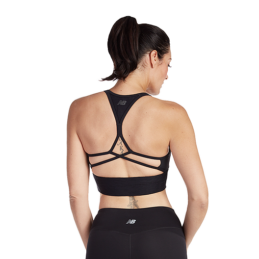 f88b75feae3d37 New Balance Women s Run Crop Bra Top