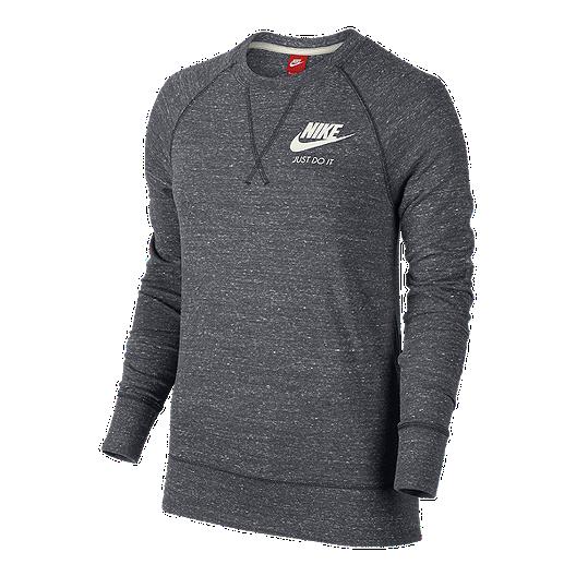 f61d9f3b Nike Sportswear Women's Gym Vintage Long Sleeve Crew Shirt   Sport Chek