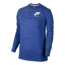 Nike Sportswear Women's Gym Vintage Long Sleeve Crew Shirt