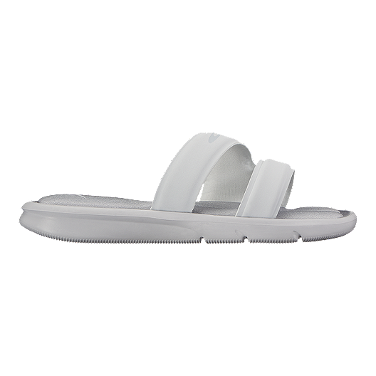 bd37af8f8bd7 Nike Women s Ultra Comfort Slide Sandals - White