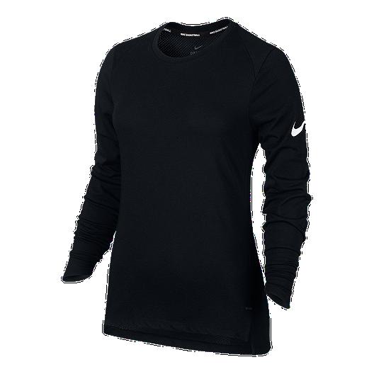 e60852b3608d Nike Women s Basketball Elite Breathe Long Sleeve Shirt