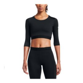 Nike Women's Pro Hypercool Crop Shirt