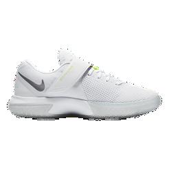 Nike Women s Zoom Live Basketball Shoes - White Grey  ade684e72