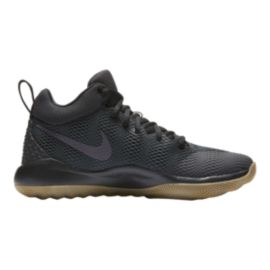 Nike Women's Zoom Rev Basketball Shoes - Black/Gum