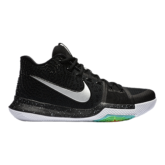 a9e61f21558d Nike Men s Kyrie 3 Basketball Shoes - Black White