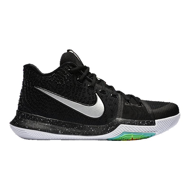new product a4c80 f4e93 Nike Men's Kyrie 3 Basketball Shoes - Black/White   Sport Chek