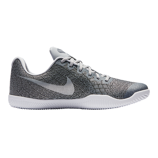 0433d59d3712 Nike Men s Kobe Mamba Instinct Basketball Shoes - Silver Grey White ...